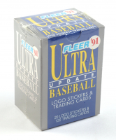 1991 Fleer Ultra Update Baseball Box of (120) Cards with #4 Mike Mussina RC, #58 Ivan Rodriguez RC, #79 Jeff Bagwell RC at PristineAuction.com