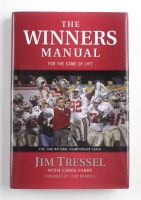"""Jim Tressel Signed """"The Winners Manual"""" Hardcover Book (PSA COA) (See Description) at PristineAuction.com"""
