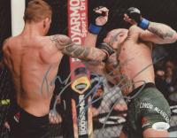 "Dustin Poirier Signed UFC 8x10 Photo Inscribed ""The Diamond"" (JSA COA) at PristineAuction.com"