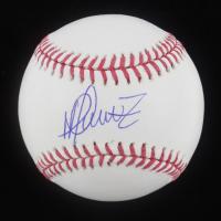 Martin Perez Signed OML Baseball (PSA Hologram) at PristineAuction.com