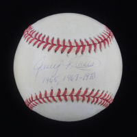 """Jerry Moses Signed OAL Baseball Inscribed """"1965, 1967-1970"""" (PSA Hologram) at PristineAuction.com"""