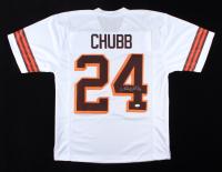 Nich Chubb Signed Jersey (JSA COA) at PristineAuction.com