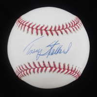 Tracy Stallard Signed OML Baseball (Stacks of Plaques COA) at PristineAuction.com