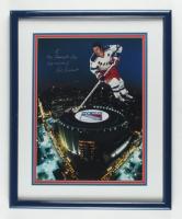"Rod Gilbert Signed Rangers 17.5x21.5 Custom Framed Photo Inscribed ""Key Scoring"" (JSA COA) at PristineAuction.com"