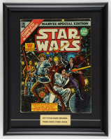 """1977 """"Star Wars"""" Issue #3 Marvel Comic Book 16x19 Custom Framed Display at PristineAuction.com"""