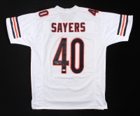 Gale Sayers Signed Jersey (JSA COA) at PristineAuction.com
