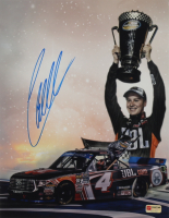 Christopher Bell Signed 11x14 Photo (Pristine Authentic COA) (See Description) at PristineAuction.com