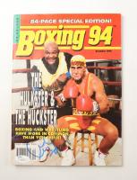 "Hulk Hogan Signed ""Boxing 94"" Magazine Inscribed (JSA COA) at PristineAuction.com"