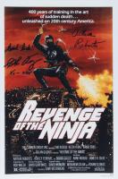 "Arthur Roberts & Sho Kosugi Signed ""Revenge of The Ninja"" 11x18 Photo with Inscription (AutographCOA Hologram) at PristineAuction.com"