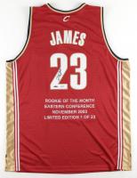 LeBron James Signed LE Cavaliers Career Highlight Stat Jersey (UDA Hologram) at PristineAuction.com