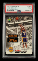 Kobe Bryant 1997 Upper Deck Nestle Crunch Time #CT22 (PSA 9) at PristineAuction.com