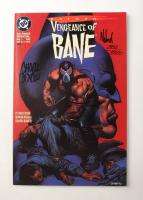 "Graham Nolan & Chuck Dixon Signed LE 1993 ""Vengeance Of Bane"" Issue #1 DC Comic Book (Dynamic Forces COA) at PristineAuction.com"
