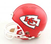 Joe Montana Signed Chiefs Full-Size Authentic Pro-Line Helmet (Beckett Hologram) at PristineAuction.com