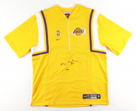 Kobe Bryant Signed Lakers Shooting Shirt (UDA COA) at PristineAuction.com
