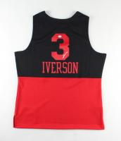Allen Iverson Signed 76ers Jersey (PSA COA) (See Decsription) at PristineAuction.com