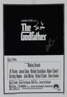 """Al Pacino Signed """"The Godfather"""" 12x18 Movie Poster (PSA LOA) at PristineAuction.com"""