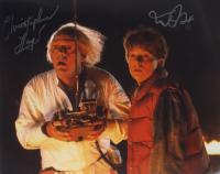"Michael J. Fox & Christopher Lloyd Signed ""Back to the Future"" 16x20 Photo (ACOA COA) at PristineAuction.com"