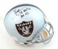"Marcus Allen Signed Raiders Full-Size Authentic On-Field Helmet Inscribed ""SB MVP 18"" & ""HOF 03"" (JSA Hologram) at PristineAuction.com"