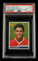 Cristiano Ronaldo 2006-07 Panini UEFA Champions League Stickers #69 (PSA 8) at PristineAuction.com
