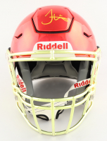 Tyreek Hill Signed Chiefs Full-Size Authentic On-Field Chrome SpeedFlex Helmet (JSA Hologram) (See Description) at PristineAuction.com