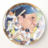 1994 Phil Rizzuto Yankees  LE Sports Impressions Porcelain Plate at PristineAuction.com