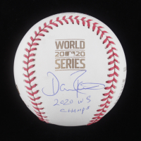 "Dave Roberts Signed 2020 World Series Logo Baseball Inscribed ""2020 WS Champs"" (JSA COA) at PristineAuction.com"