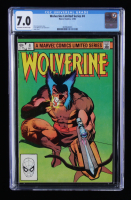 """1982 """"Wolverine"""" Issue #4 Marvel Comic Book (CGC 7.0) at PristineAuction.com"""