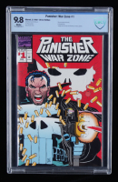 """1992 """"Punisher: War Zone"""" Issue #1 Marvel Comic Book (CGC 9.8) at PristineAuction.com"""