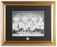 1894 Boston Red Sox Team Photo 13.5x16.5 Custom Framed Photo Display With Team Pin. at PristineAuction.com
