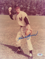 Hank Bauer Signed Yankees 8x10 Photo (PSA COA) at PristineAuction.com