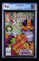 """1990 """"The Silver Surfer"""" Issue #44B Marvel Comic Book (CGC 9.6) at PristineAuction.com"""
