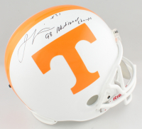 """Jamal Lewis Signed Tennessee Volunteers Full-Size Helmet Inscribed """"98 National Champs"""" (Schwartz Sports COA) at PristineAuction.com"""