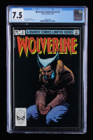 """1982 """"Wolverine"""" Issue #3B Marvel Comic Book (CGC 7.5) at PristineAuction.com"""