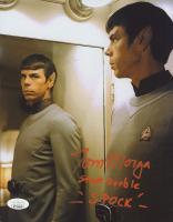 "Tom Morga Signed ""Star Trek"" 8x10 Photo Inscribed ""Stunt Double"" & ""Spock"" (JSA COA) at PristineAuction.com"