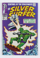 """1968 """"Silver Surfer"""" Issue #2 Marvel Comic Book at PristineAuction.com"""