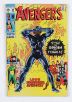 """1971 """"The Avengers"""" Issue #87 Marvel Comic Book at PristineAuction.com"""