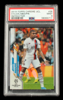 Kylian Mbappe 2019 Topps Chrome Refractor UCL #26 (PSA 9) at PristineAuction.com