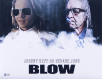 """George Jung Signed """"Blow"""" 11x14 Photo (Beckett COA) at PristineAuction.com"""
