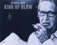 """George Jung Signed """"King of Blow"""" 11x14 Photo (Beckett COA) at PristineAuction.com"""