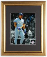 Bo Jackson Signed Royals 13x16 Custom Framed Photo Display (Beckett COA) at PristineAuction.com