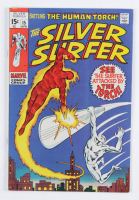 """1970 """"The Silver Surfer"""" Issue #15 Marvel Comic Book at PristineAuction.com"""