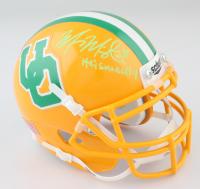 "Marcus Mariota Signed Oregon Ducks Mini Helmet Inscribed ""Heisman'14"" (JSA COA) at PristineAuction.com"