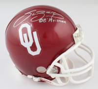 "Sam Bradford Signed Oklahoma Sooners Mini Helmet Inscribed ""08 Heisman"" (JSA COA) at PristineAuction.com"