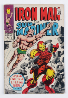 """1968 """"Iron Man and Sub-Mariner"""" Issue #1 Marvel Comic Book at PristineAuction.com"""