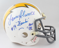 """Lance Alworth & John Hadl Signed Chargers Throwback Full-Size Authentic On-Field Helmet Inscribed """"Bambi"""" & """"HOF '78"""" (JSA COA) at PristineAuction.com"""