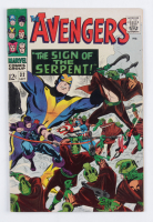 """1966 """"The Avengers"""" Issue #32 Marvel Comic Book at PristineAuction.com"""