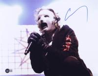 "Corey Taylor Signed ""Slipknot"" 11x14 Photo (Beckett Hologram) at PristineAuction.com"