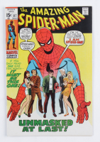 """1970 """"The Amazing Spider-Man"""" Issue #87 Marvel Comic Book at PristineAuction.com"""