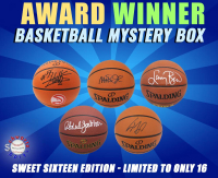 Schwartz Sports - Basketball Award Winner Signed Basketball Mystery Box – (Sweet Sixteen Edition - Series 1) (Limited to ONLY 16!) (All Are NBA Award Winners!!) at PristineAuction.com