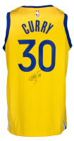 Stephen Curry Signed Warriors Nike Jersey (Fanatics Hologram) at PristineAuction.com
